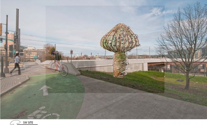 """We were recently invited to submit a proposal for Portland's Green Loop Plan. We were excited to use this proposal as an opportunity to push ourselves to think outside the box of conventional city planning as big to small, top down or a """"birds eye view"""" approach. Our initial impulse […]"""