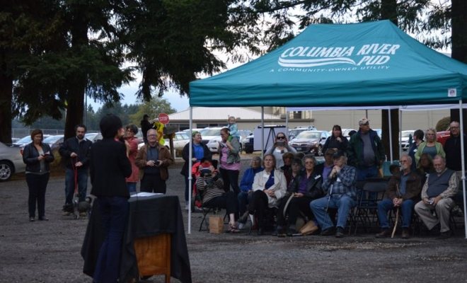We look forward to you joining us for the public dedication of our Salmon Tree Cycle for city of St Helens. The location will be outside the Columbia Veterinary Clinic off Firlok Park road. **Update: We had a great time celebrating the completion of the second of two main Gateway […]