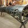 With fundraising successful and complete we are excited to be in fabrication of the Salmon Tree Cycle sculpture! A public artwork for the City of St Helens Oregon. Lots of cutting and forming of metal and plastic in the shop. Once fabricated all parts will be blasted, primed and powder […]