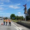 If you drive along US Highway 30 you will now start to see the Salmon Tree Cycle sculpture Gateway installed at the south entrance to city of St Helens. Very smooth installation thanks to all involved those who volunteered much of their time to the very helpful folks at the […]