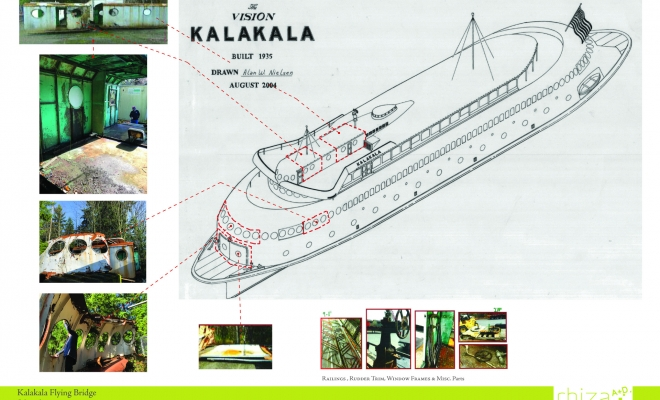 We were recently selected by the City of Kirkland to create a design proposal for the reuse and adaptation of a series of salvaged parts from the iconic MV KALAKALA , a ferry that plied the waters of Puget Sound from 1935-1967. We publicly presented our proposal at an open […]